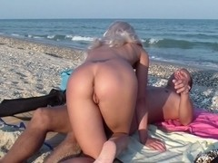 Adele Laurentia in guy fucks a blonde amateur girl on a beach
