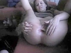 Nailing my wife in her thick butt