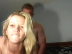 Skinny blonde amateur private fuck