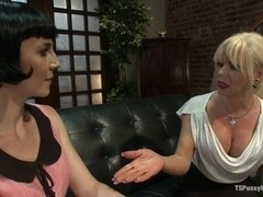 Hitting It Big Transsexual Casting Couch
