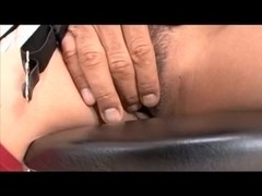 Wicked Oriental slut acquires her mouth screwed by a hung darksome lad
