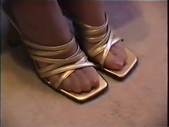 Nylon feet and shoes 8