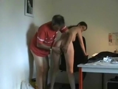 Fucking my wife on the chair