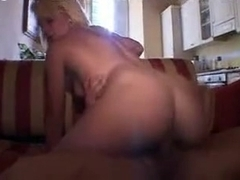 Amateur blonde video with me sucking and fucking