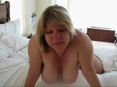 Incredible Amateur video with bbw scenes
