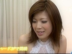 Cock sucking Mari Sasaki craves for creampie ending