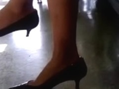 The Train Station Sexy Brunettes Legs and Feet Final Part
