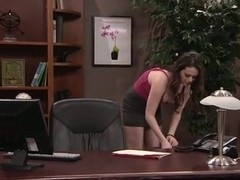 slutty secretary fucked