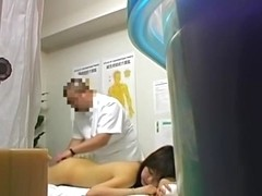Voyeur cam in clinic spying on young girl owned by doctor