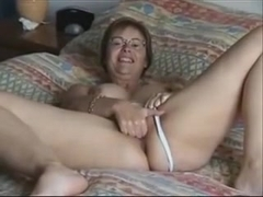 Large Boob Wife Puts On A Show