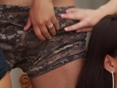 Fabulous pornstars Liv Aguilera, Selma Sins and Ash Hollywood in hottest blowjob, latina sex movie