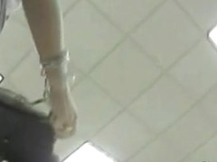 My chick's ass was caught on spy cam during shopping