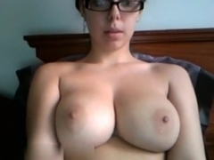 Gorgeous round bouncing melons