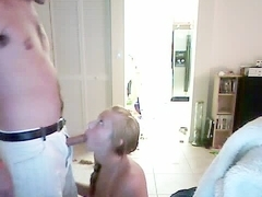 Girl gets fucked on webcam