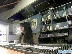 PublicAgent: Sexy barmaid closes for sex
