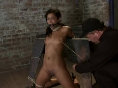 Brutal breath play & massive orgasms take this one to the edge of consciousnessA sweaty mess.