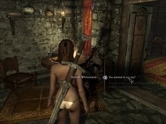Perils of escaped Skyrim slavegirl 14