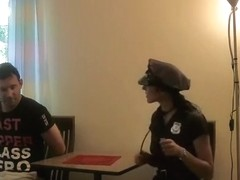 Enjoyable-Sophie - policewoman takes what this babe needs?