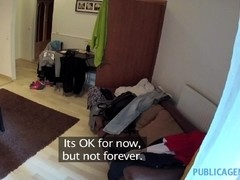 PublicAgent: Homemade video with the hotel cleaner