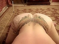 Exhibitionist fat MILF rammed hard