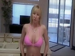Sexy Mommy Kitchen Sex Clip With Her Spouse