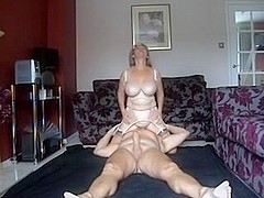 UK femdom older fuck with lad-in-law