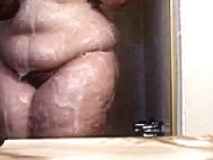 Curvy Big Ass BBW Shower - 72