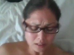 my wife's on bed