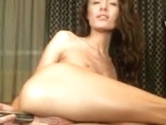 slender cutie creamy squirt with anal vibrator