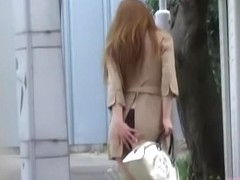 Sexy Japanese brunette getting nicely surprised by some kinky sharking lad