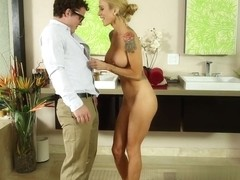 Sarah Jessie, Robby Echo in His First Time Scene