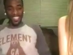 Black Guy Fucks Attractive White Amatuer After Party