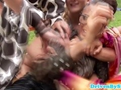 ### fetish femdom babes overpower couple