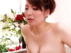 Amazing Japanese chick Yuna Aino in Crazy JAV censored Bathroom, MILFs clip