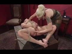 Petite Blondie Getting Fisted and Fucked by Mistress