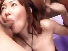 Crazy Japanese girl Ruri Yuikawa in Fabulous Threesomes JAV clip