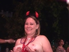 Raw Girls Gone Naked On The Streets Of Key West Florida