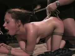 Cute Teen Fucked very Hard with Audience