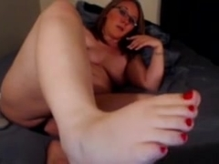 Mature I'd Like To Fuck squirts on sofa