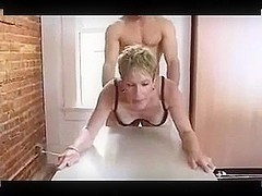 Dirty mature bitch can't resist a young cock R20
