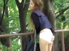Erotic Asian hottie getting pulled into some surprising sharking affair
