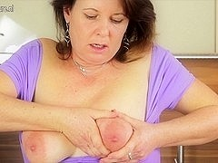 Real aged whore mommy can't live without to play with her soaked bawdy cleft