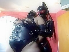 Clothed in Latex and FemDom(ed) enjoyment