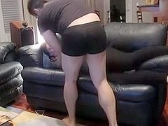 Obese GF drilled her daybed