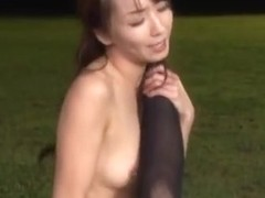Shiho and Maki Hokujo hot lesbian milfs in action