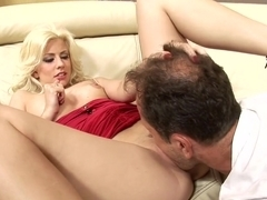 Hottest pornstar Jessie Volt in exotic mature, blonde porn movie
