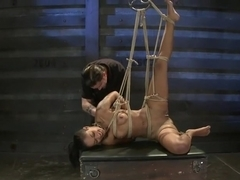 Skin Diamond Live ShowThe Final Test of Slave Training ash