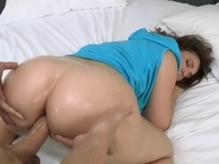 Cute roller needed her tight ass fucked
