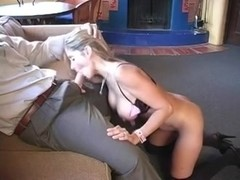 Sexy wife Rio fucking her spouse boss