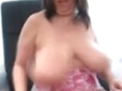 British Breasts Marie's Huge Tittes and Soaked Snatch